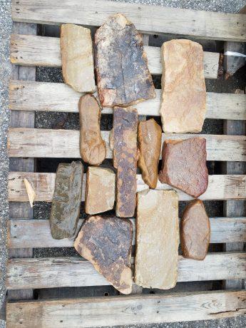 custom fireplace stone